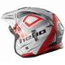 Hebo Zone 4 Fibre Patrick Red Trials Helmet