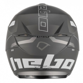 Hebo Zone 5 Polycarb Pursuit Black Trials Helmet Image 2