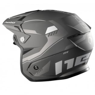 Hebo Zone 5 Polycarb Pursuit Black Trials Helmet Image 3