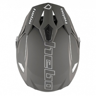 Hebo Zone 5 Polycarb Pursuit Black Trials Helmet Image 4