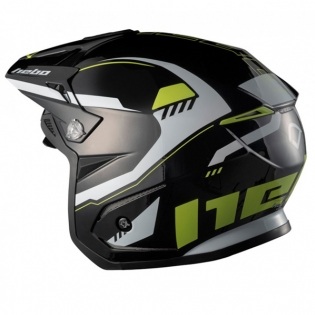 Hebo Zone 5 Polycarb Pursuit Lime Trials Helmet Image 2
