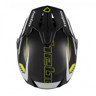 Hebo Zone 5 Polycarb Pursuit Lime Trials Helmet Image 4