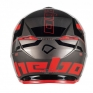 Hebo Zone 5 Polycarb Pursuit Red Trials Helmet