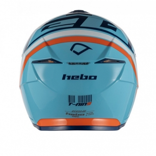 Hebo Zone 5 Polycarb T-Nine Blue Trials Helmet Image 3