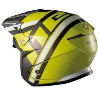 Hebo Zone 5 Polycarb T-Nine Lime Trials Helmet Image 2