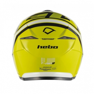 Hebo Zone 5 Polycarb T-Nine Lime Trials Helmet Image 3
