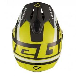 Hebo Zone 5 Polycarb T-Nine Lime Trials Helmet Image 4