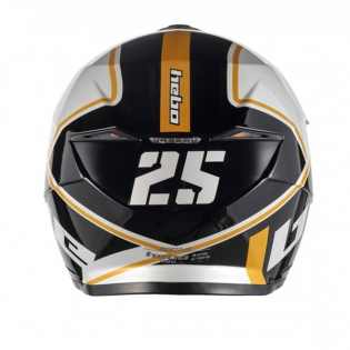 Hebo Zone 5 Polycarb 25th Anniversary Trials Helmet Image 3