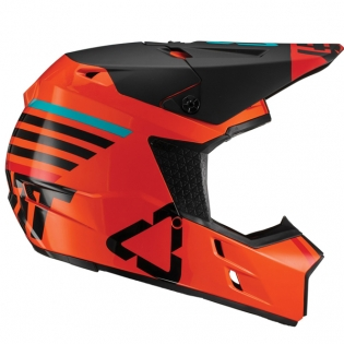 Leatt GPX 3.5 V19.2 Orange Helmet Image 2