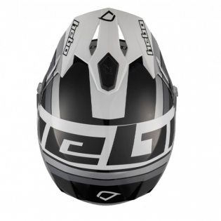 Hebo Zone 5 Polycarb T-Nine Black Trials Helmet Image 3