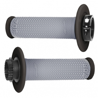 ProGrip 708 Lock On Dual Density Grips - Grey Black Image 3