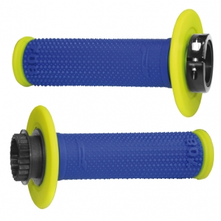 ProGrip 708 Lock On Dual Density Grips - Blue Yellow Image 3