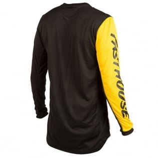Fasthouse Icon L1 White Yellow Jersey Image 3
