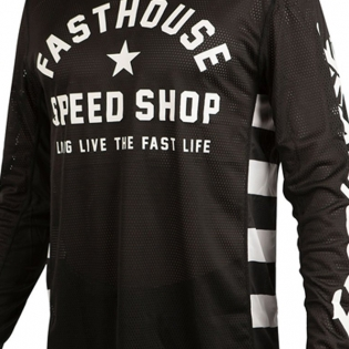 Fasthouse Originals Air Cooled L1 Black Jersey Image 3