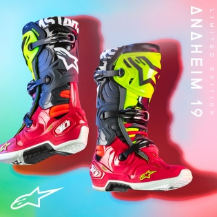 Alpinestars Tech 10 Limited Edition Anaheim Boots Image 2
