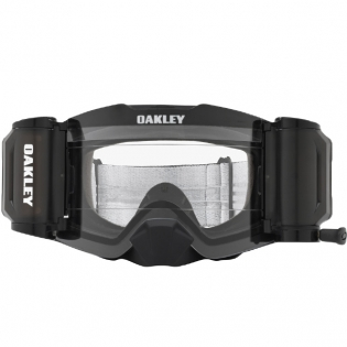 Oakley Front Line Roll Off Goggles - Matte Black Speed Clear Image 2