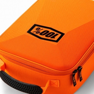 100% Fluo Orange Goggle Case Image 2