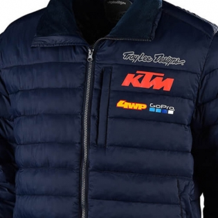 Troy Lee Designs Dawn Team KTM Navy Jacket Image 2