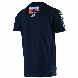 Troy Lee Designs Team KTM Navy T Shirt Image 3