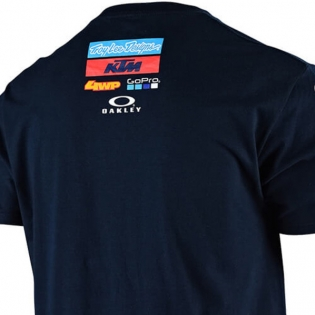 Troy Lee Designs Team KTM Navy T Shirt Image 4