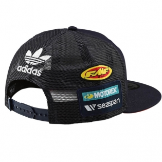 Troy Lee Designs Kids Team KTM Navy Snapback Cap Image 3
