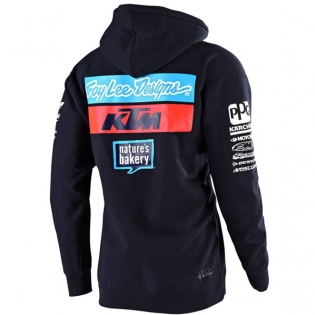 Troy Lee Designs Kids Team KTM Navy Pull Over Hoodie Image 3
