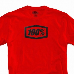 100% Essential Red T Shirt Image 2