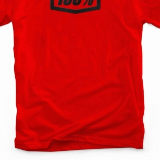100% Essential Red T Shirt Image 3
