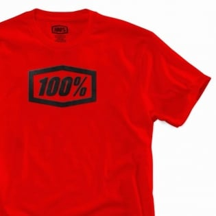 100% Essential Red T Shirt Image 4