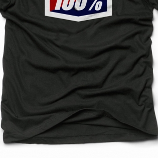 100% Official Black T Shirt Image 3