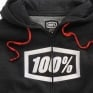 100% Syndicate Black Heather White Hoodie