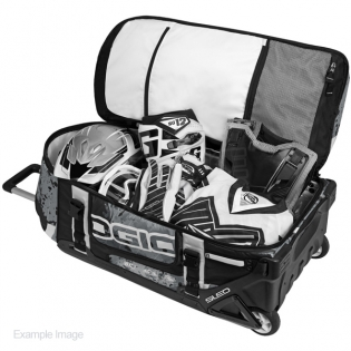 Ogio Rig 9800 LE Motocross Wheeled Gear Bag - Scratch Neon Image 2