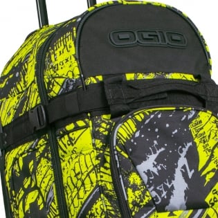Ogio Rig 9800 LE Motocross Wheeled Gear Bag - Scratch Neon Image 3