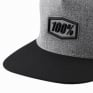 100% Enterprise Snapback Gunmetal Heather Hat