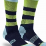 100% Rev Knee Brace Performance Moto Navy Socks