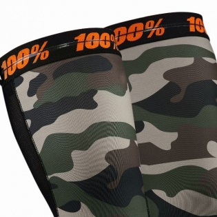 100% Rev Knee Brace Performance Moto Camo Socks Image 2