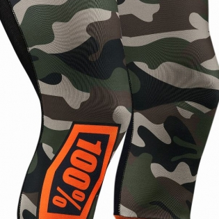 100% Rev Knee Brace Performance Moto Camo Socks Image 3