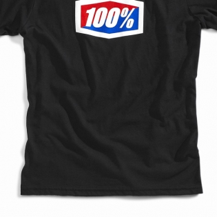 100% Kids Official Black T Shirt Image 3