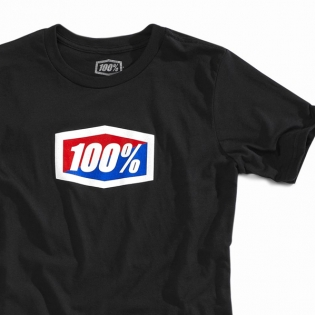 100% Kids Official Black T Shirt Image 4