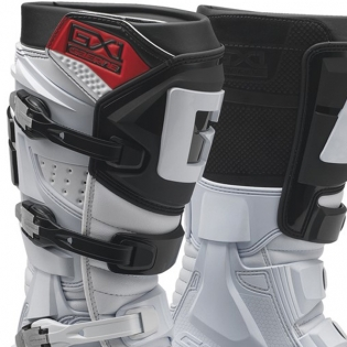 Gaerne GX1 Motocross White Boots Image 2