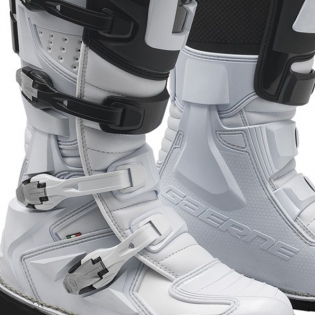 Gaerne GX1 Motocross White Boots Image 3