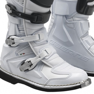 Gaerne GX1 Motocross White Boots Image 4