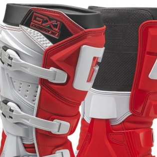 Gaerne GX1 Motocross Red Boots Image 2