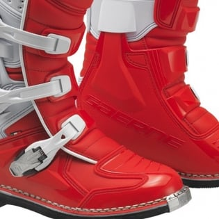 Gaerne GX1 Motocross Red Boots Image 4