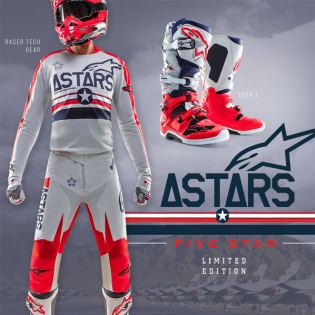 Alpinestars Tech 7 Ltd Edition San Diego 5 Star Boots Image 3