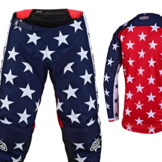 Troy Lee Designs GP Independence Navy Kit Combo Image 2