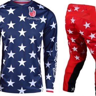 Troy Lee Designs GP Independence Navy Kit Combo Image 4