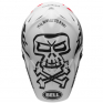 Bell Moto 9 Carbon Flex Fasthouse WRWF White Black Red Helmet