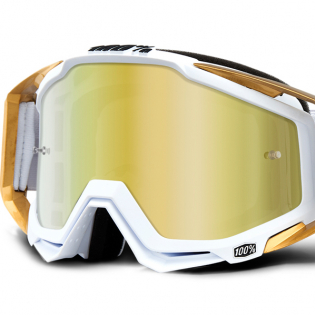100% Racecraft LTD Mirror Lens Goggles Image 2