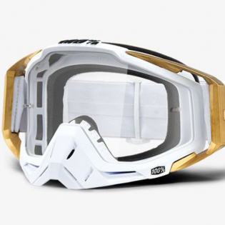 100% Racecraft LTD Clear Lens Goggles Image 2